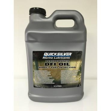 Olio lubrificante Quicksilver 2t DFI iniezione 10lt